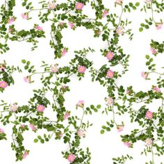 Wallfashion, FRONT YARD Botanical Rose, by Muurbloem