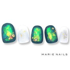 From general topics to more of what you would expect to find here, nail-art-stickers. Elegant Nail Designs, Elegant Nails, Cute Nail Designs, Foil Nail Art, Foil Nails, Gorgeous Nails, Pretty Nails, Claw Nails, Gem Nails