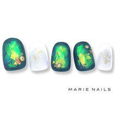 #マリーネイルズ #ネイル #kawaii #kyoto  #ジェルネイル #ネイルアート #swag #marienails #ネイルデザイン #naildesigns #trend #nail #toocute #pretty #nails #ファッション #naildesign #ネイルサロン  #beautiful #nailart #tokyo #fashion #ootd #nailist #ネイリスト #gelnails #大人ネイル #ショートネイル #ホイルネイル #green