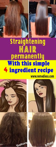 Straightening #hair permanently with this simple 4 ingredient recipe #remedy #health #healthTip #remedies #beauty #healthy #fitness #homeremedy #homeremedies #homemade #trends #HomeMadeRemedies #Viral #healthyliving #healthtips #healthylifestyle #Homemade
