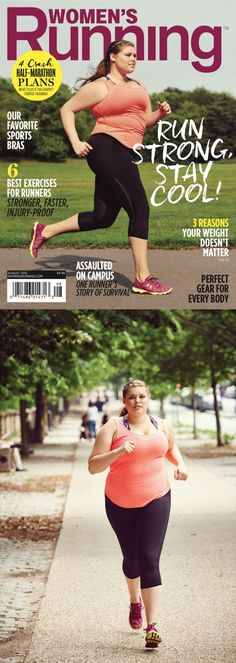 This Cover Model Has Awesome Advice For Anyone Who Wants to Run