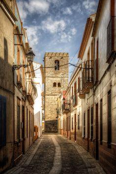 Iglesia de Santa María de la Granada, Niebla, Huelva, Andalucía_ Spain
