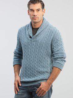 Shawl-Collar Sweater   CarmelCashmere.com