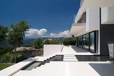 Garden Stairs, Andalucia - McLEAN QUINLAN ARCHITECTS - Photographer Peter Cook