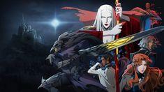 Castlevania Netflix, Castlevania Anime, Carmilla, Dracula, Netflix Original Anime, Trevor Belmont, Cinema, Netflix Original Series, Vampire Art