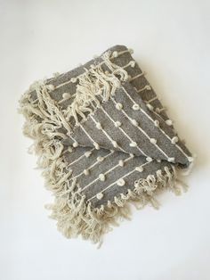 MILLE | Mexchic Handwoven Palomita Blanket/Rug - 6' x 8'