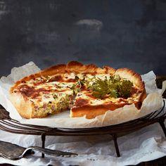 Quiche Lorraine - K-ruoka Quiche Lorraine, Vegetable Pizza, Banana Bread, Keto, Vegetables, Breakfast, Desserts, Food, Quiches