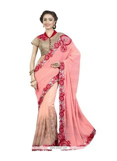 Dashing Net Embroidered Work Designer Saree Model: YOSAR8381