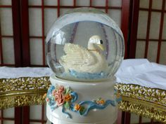 Vintage Snow Globe Music Box with a Snow White by Vintage42Day, SOLD