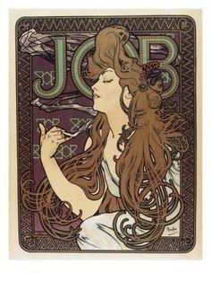 Job Giclee Print