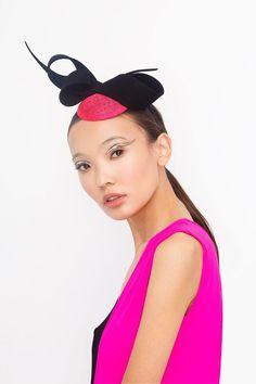 #millinery #bow #neonkids #ivaksenevich #asian #fascinator