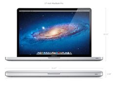 """My fully decked out 17"""" MacBook Pro"""