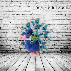 nanoblock pavone design