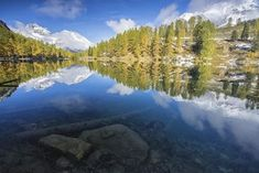 Palpuognasee: Ein verwunschener See mit Alpenpanorama - [GEO] Places In Switzerland, Places Worth Visiting, Swiss Alps, Secret Places, Wild Nature, Where To Go, Beautiful Places, Hiking, Mountains