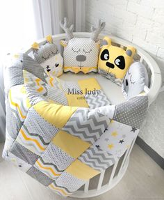 Miss Judy cotton JuliaLepa - Miss Judy cotton JuliaLepa - Best Picture For furniture diy sofa Fo. Baby Bedroom, Baby Boy Rooms, Baby Room Decor, Baby Crib Sets, Baby Cribs, Diy Sofa, Quilt Baby, Diy Bebe, Baby Sewing Projects