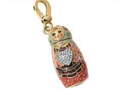 Juicy Couture Russian Nesting Doll Charm