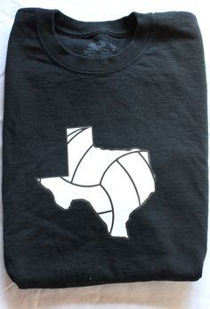 Texas Volleyball Tshirt Vball Apparel Sports by MyLittleAthlete, $16.99