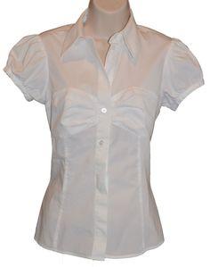 Victoria's Secret Moda International White  Blouse, size S #ModaInternational #Blouse