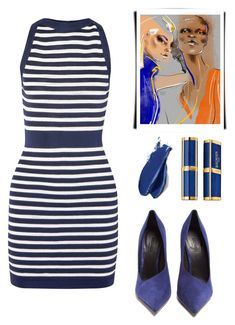 """""""Balmain 2.0"""" by catpaw29 ❤ liked on Polyvore featuring Balmain"""