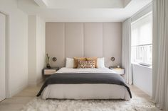 interior, home decor, decorating ideas, industrial, modern luxury, bedroom, white spaces, neutrals