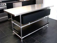Restaurant Kitchen Island delighful restaurant kitchen table steel work prep commercial 24