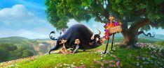 Ferdinand movie still. See the movie photo now on Movie Insider. Ferdinand Movie, The Story Of Ferdinand, Disney Pixar, Gabriel Iglesias, Cinema, Holiday Movie, Cute Family, Family Movies, Movie Photo