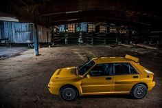 Giallo Ginestra amazing.... Hatchback Cars, Delta Force, Lancia Delta, Rally Car, Evo, Cars And Motorcycles, Muscle Cars, Automobile, The Past