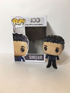 The CW s The 100 Sinclair Custom Funko POP by SonyaCollections on Etsy The  100 Merchandise eda9be239505