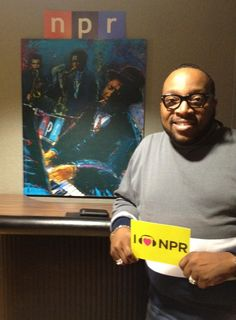 Gospel singer, Marvin Sapp, spreads some of his love to NPR. (June 2012)