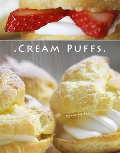 Easy Cream Puffs Recipe - French Choux Chantilly