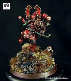 Kharn the Betrayer Heresy Miniature Conversion
