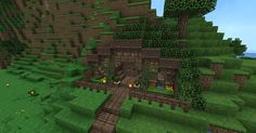 Minecraft Hobbit Hole Inside Blueprints Layer By Leyer 1278