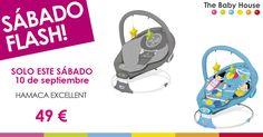 Nueva oferta en productos para tu bebé: sólo el 10 de septiembre, hamaca…