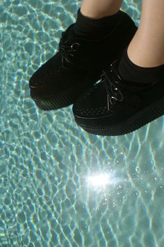 Creeper shoes & swimming pools.