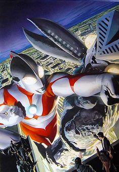 Ultraman by Alex Ross