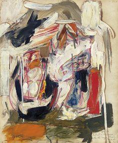 Untitled (1956) by Michael Goldberg