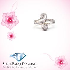 Add some sparkle to your finger with this dazzling diamond ring. 18K gold with Belgium cut diamond.