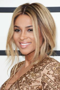 Going out for the night? Try a piece-y updo like Ciara. It's flirty, fun and totally easy to do.