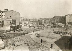 Plaza de Callao, en 1920
