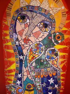 Virgen de Guadalupe. Por Florencia Delucchi.