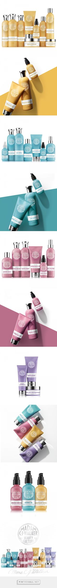 Madam CJ Walker Beauty Culture Packaging by Rooknyc | Fivestar Branding Agency – Design and Branding Agency & Inspiration Gallery