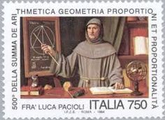 Mathematics on stamps - Stamp Community Forum - Page 7 Luca Pacioli, Models Of The Universe, Renaissance Men, European Paintings, Small Art, Letter Art, Stamp Collecting, Science And Nature, Postage Stamps