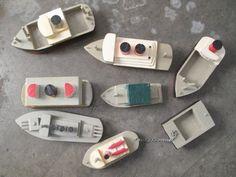 Vintage wooden boats
