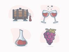 Love Wine by Al Power #Design Popular #Dribbble #shots