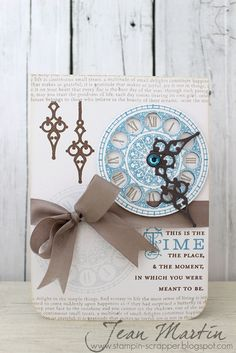 Stampin Scrapper: CASE Study Challenge 127 this would look cute as a wedding invite