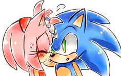 Sonic and Amy Sonic And Amy, Sonic 3, Amy Rose, Sonic The Hedgehog, Sonamy Comic, Pokemon, Imagenes My Little Pony, Sonic Franchise, Comic Pictures