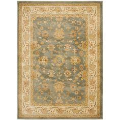 Safavieh Oushak Green/Grey Rug (8' x 11') - Overstock™ Shopping - Great Deals on Safavieh 7x9 - 10x14 Rugs