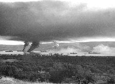 Ο κόλπος της Σούδας, Κρήτη, Απρίλιος 1941 - The Souda Bay, Crete, April 1941.