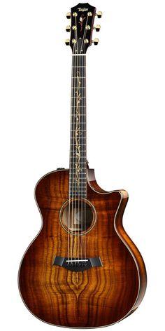 TaylorK24ce Grand Auditorium Cutaway ES2 Acoustic Electric Guitar Shaded Edgeburst