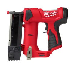 Milwaukee 2540-20 M12 23 Gauge Pin Nailer (bare tool) Milwaukee M12, Milwaukee Tools, Cordless Power Tools, Outdoor Tools, Reversible Belt, Electronic Recycling, Air Tools, Manualidades